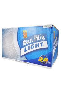San Miguel Light Box