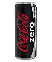 COCA-COLA  ZERO 330ml CAN