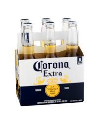 Corona Extra Beer Bottles 6 pack
