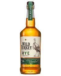 Wild Turkey Kentucky Straight Rye Whiskey 750 ml